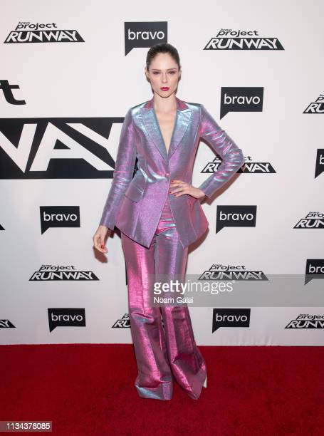 "Coco Rocha attends Bravo's ""Project Runway"" New York Premiere at Vandal on March 07, 2019 in New York City."