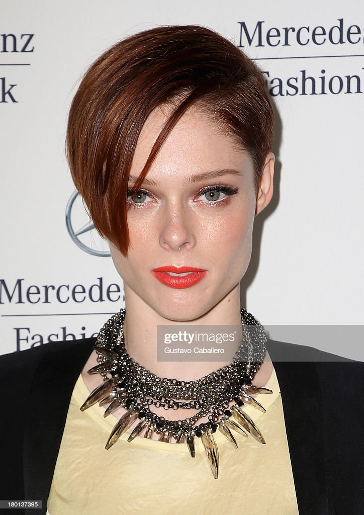 Coco Rocha attends Day 5 of Mercedes-Benz Fashion Week Spring 2014 at Lincoln Center for the Performing Arts on September 9, 2013 in New York City.