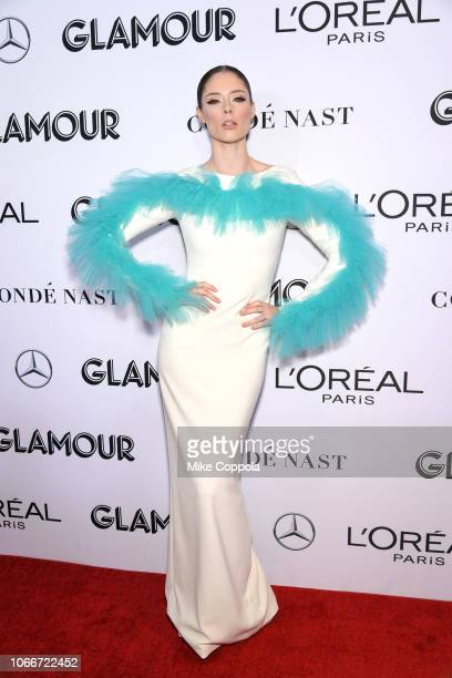 Coco Rocha attends Glamour Women of the Year Awards 2018 at Spring Studios on November 12 2018 in New York City