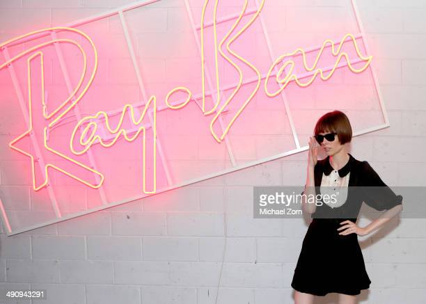 Coco Rocha attends RayBan celebrates District 1937 featuring Blondie and MS MR on May 15 2014 in New York City