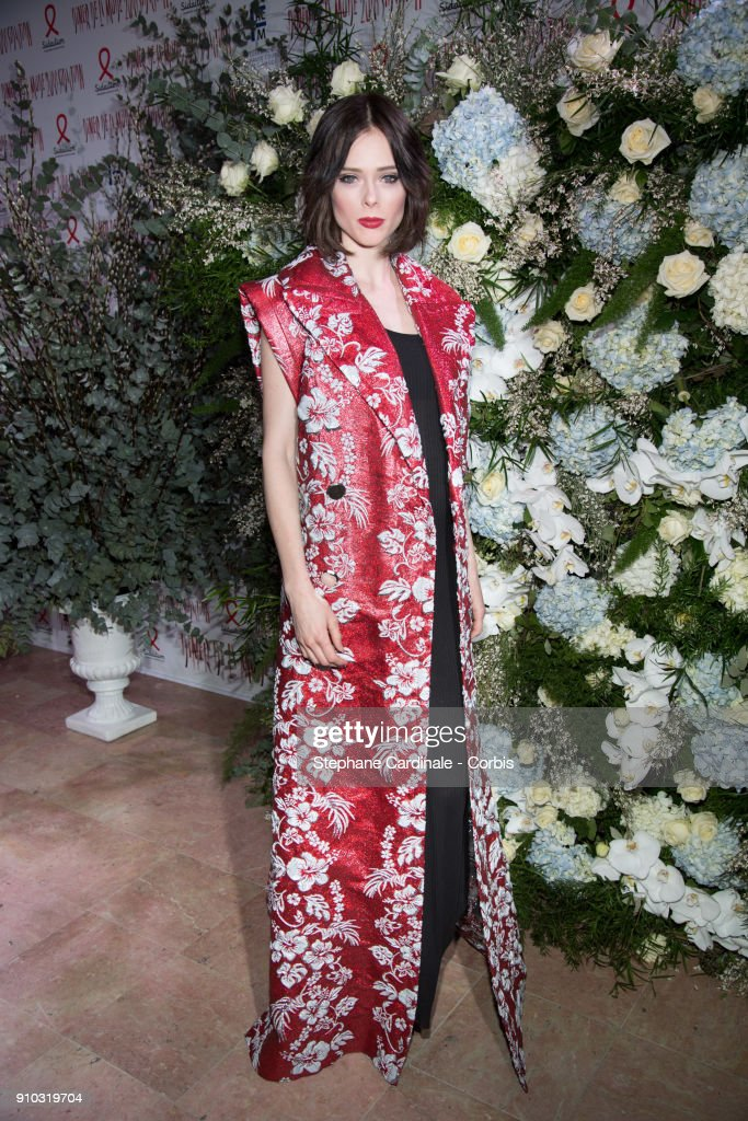16th Sidaction  - Paris Fashion Week - Haute Couture Spring Summer 2018 : News Photo