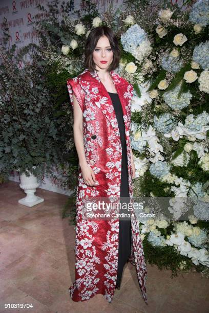 Coco Rocha attends the 16th Sidaction as part of Paris Fashion Week on January 25 2018 in Paris France