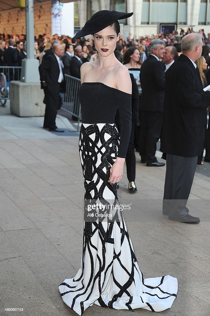 Coco Rocha attends the 2014 CFDA Fashion Awards>> at Alice Tully Hall, Lincoln Center on June 2, 2014 in New York City.