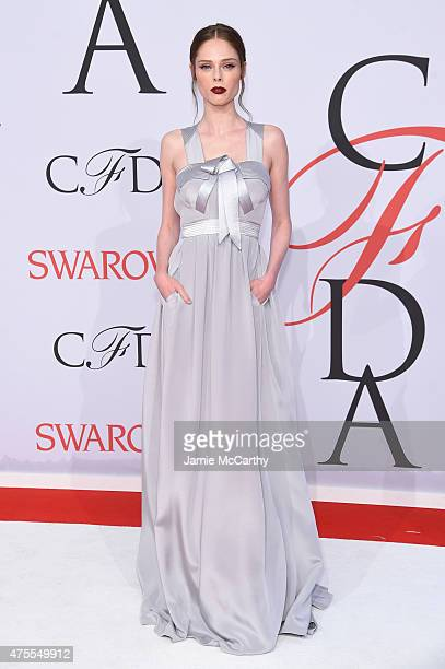 Coco Rocha attends the 2015 CFDA Fashion Awards at Alice Tully Hall at Lincoln Center on June 1 2015 in New York City