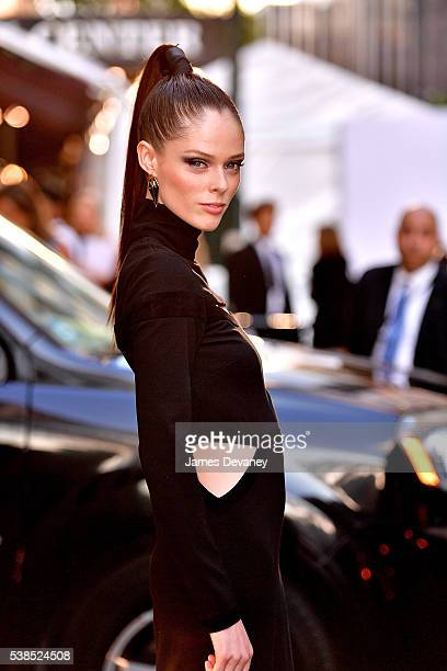 Coco Rocha attends the 2016 CFDA Fashion Awards at the Hammerstein Ballroom on June 6 2016 in New York City