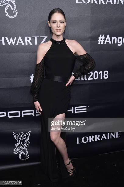 Coco Rocha attends the 2018 Angel Ball hosted by Gabrielle's Angel Foundation at Cipriani Wall Street on October 22 2018 in New York City