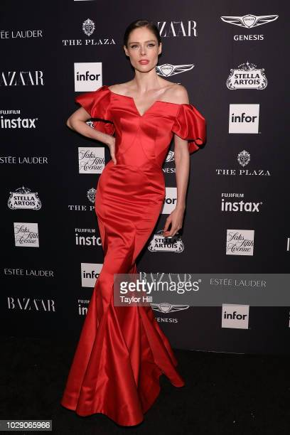 Coco Rocha attends the 2018 Harper's BAZAAR ICONS Party at The Plaza Hotel on September 7 2018 in New York City