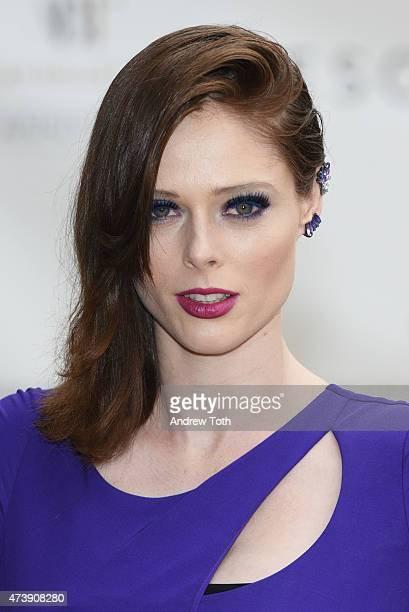 Coco Rocha attends the American Ballet Theatre's 75th Anniversary Diamond Jubilee Spring Gala at The Metropolitan Opera House on May 18 2015 in New...