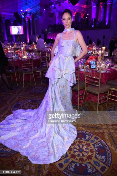 Coco Rocha attends the Angel Ball 2019 hosted by Gabrielle's Angel Foundation at Cipriani Wall Street on October 28 2019 in New York City