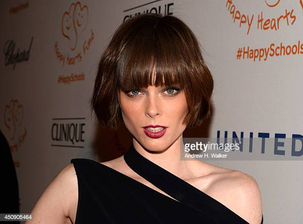 Coco Rocha attends the Happy Hearts Fund Gala with Chopard 10 year anniversary of the Indian Ocean tsunami tribute at Cipriani 42nd Street on June 19...