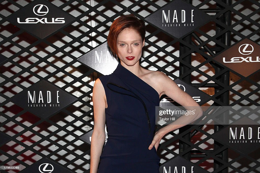 Coco Rocha attends the Lexus Design Disrupted Fashion Event at SIR Stage 37 on September 5, 2013 in New York City.