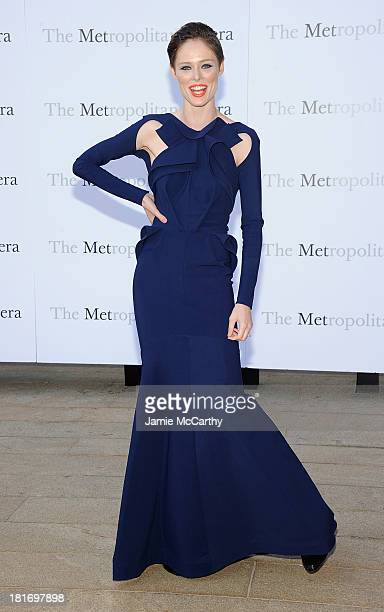 Coco Rocha attends the Metropolitan Opera Season Opening Production Of Eugene Onegin at The Metropolitan Opera House on September 23 2013 in New York...