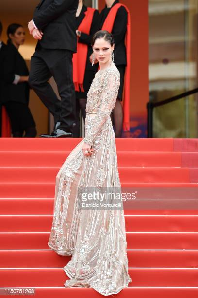 Coco Rocha attends the screening of Once Upon A Time In Hollywood during the 72nd annual Cannes Film Festival on May 21 2019 in Cannes France