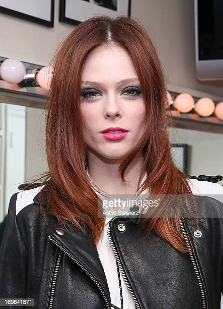 Coco Rocha attends the 'Secrets Of StartUp Queens' panel hosted by Glamour magazine at 92nd Street Y on May 29 2013 in New York City