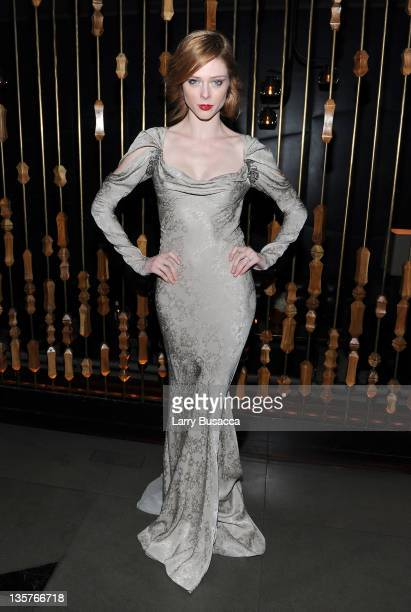Coco Rocha attends the The Iron Lady New York premiere after party at The Royalton Hotel on December 13 2011 in New York City