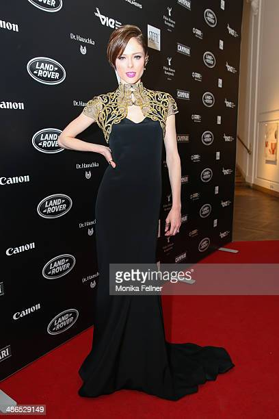 Coco Rocha attends the Vienna Awards 2014 at MAK Museum fuer angewandte Kunst on April 24 2014 in Vienna Austria