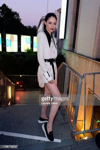 Coco Rocha attends Tod's X Alber Elbaz Happy Moments at Yoyo Palais De Tokyo on July 02, 2019 in Paris, France.