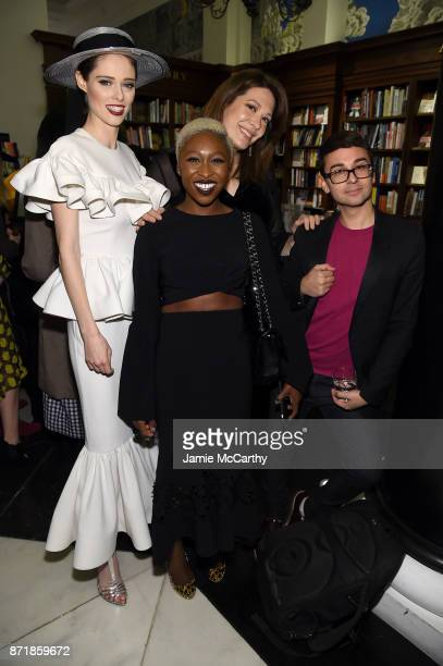 Coco Rocha Cynthia Erivo Michelle Collins and Christian Siriano celebrate the release of his book 'Dresses To Dream About' at the Rizzoli Flagship...