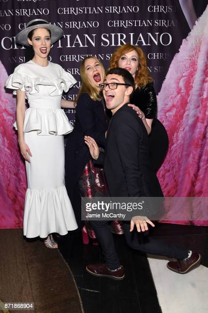 Coco Rocha Drew Barrymore Christina Hendricks and Christian Siriano celebrate the release of his book 'Dresses To Dream About' at the Rizzoli...