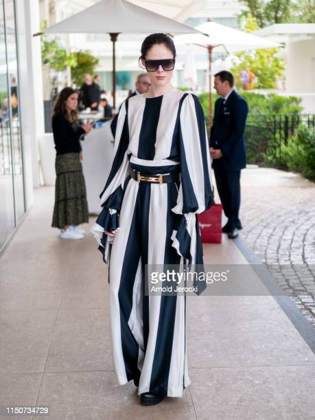 Coco Rocha is seen at the Martinez hotel during the 72nd annual Cannes Film Festival on May 21 2019 in Cannes France