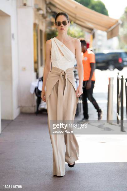 Coco Rocha is seen during the 74th annual Cannes Film Festival at on July 11, 2021 in Cannes, France.