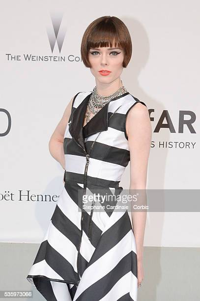 Coco Rochas at the amfAR's 21st Cinema Against AIDS Gala at Hotel du CapEdenRoc during the 67th Cannes Film Festival