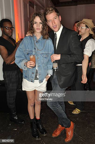 Coco Sumner and Robin ScottLawson attend a party hosted by Qasimi on November 19 2009 in London England