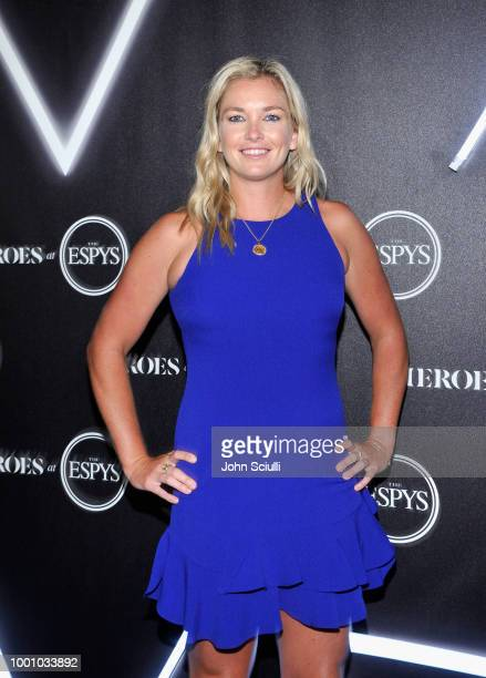 CoCo Vandeweghe attends HEROES at The ESPYS at City Market Social House on July 17 2018 in Los Angeles California