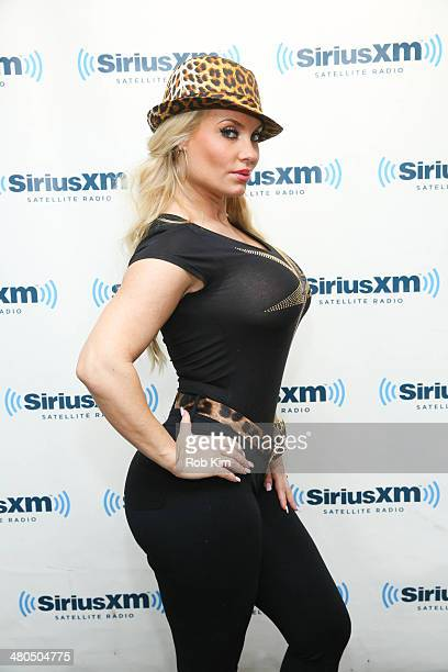 Coco visits at SiriusXM Studios on March 25 2014 in New York City