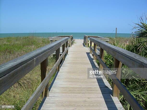 cocoa beach, florida. - cocoa beach stock pictures, royalty-free photos & images