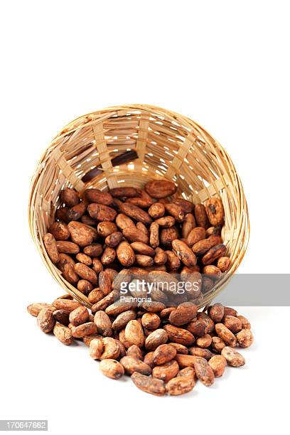 Cocoa Bean in Korb