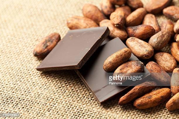 Cocoa Bean mit Schokolade