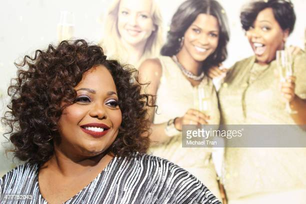 Cocoa Brown arrives at the Los Angeles premiere of Tyler Perry's The Single Moms Club held at ArcLight Cinemas Cinerama Dome on March 10 2014 in...