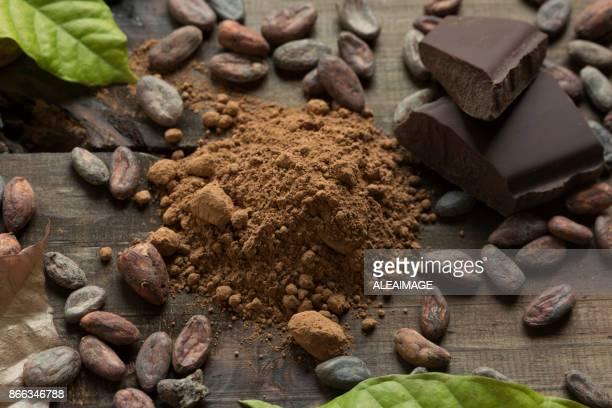 Composición del cacao