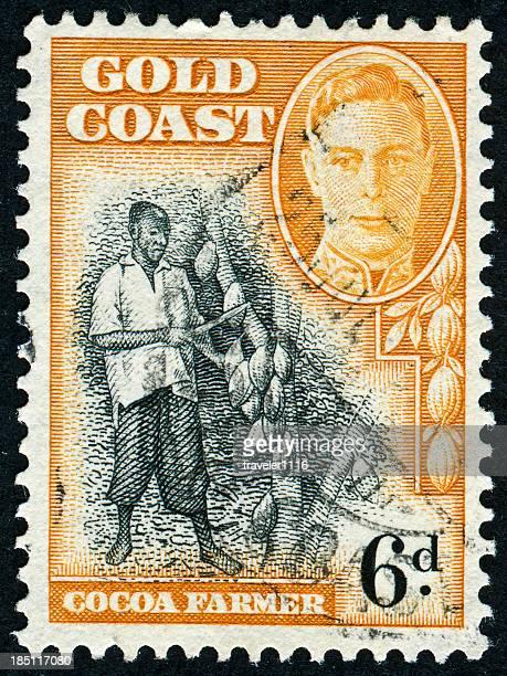Cocoa Farmer Stamp