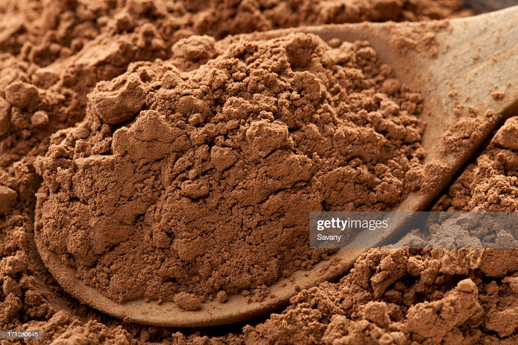 Cocoa powder : Stock Photo