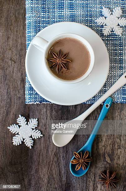 Cocoa with star anise
