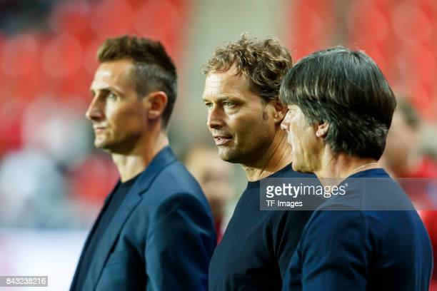 cocoach Marcus Sorg of Germany looks on during the FIFA 2018 World Cup Qualifier between Czech Republic and Germany at Eden Stadium on September 1...