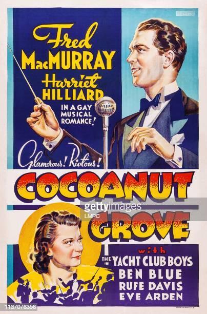 Fred MacMurray bottom Harriet Hilliard on poster art 1938