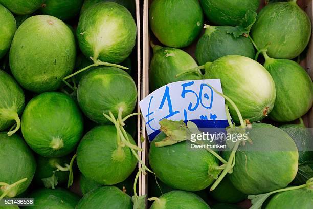 'cocomero' a very local cucumber variety-Puglia, Italy