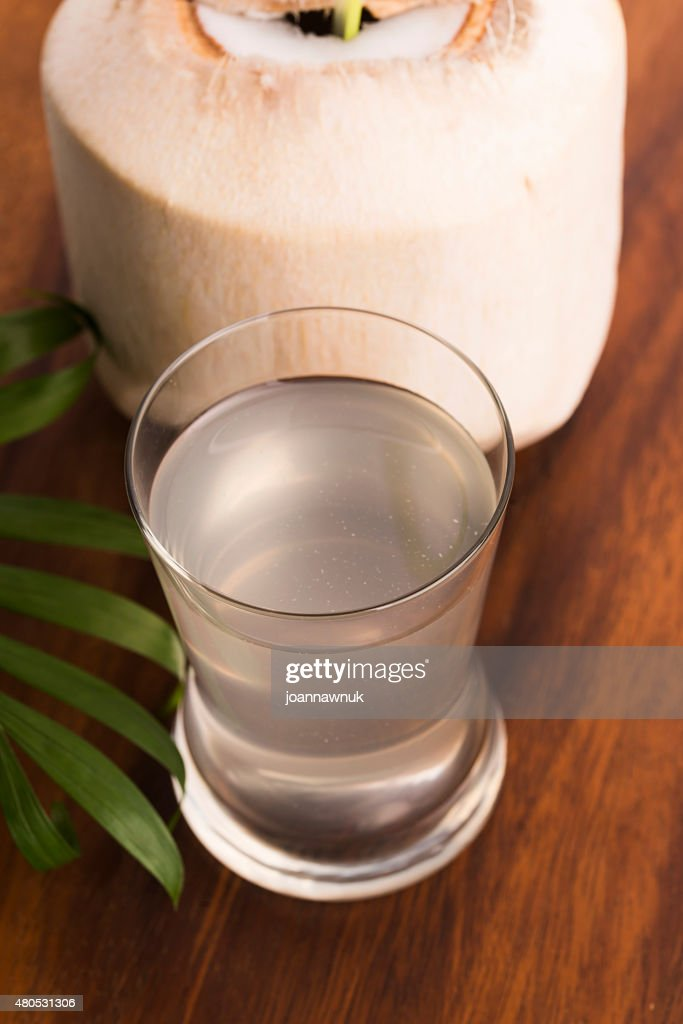 Coconut and coconut water : Stock Photo