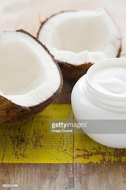 Coconut and cream