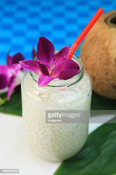Coconut Milk with Tapioca