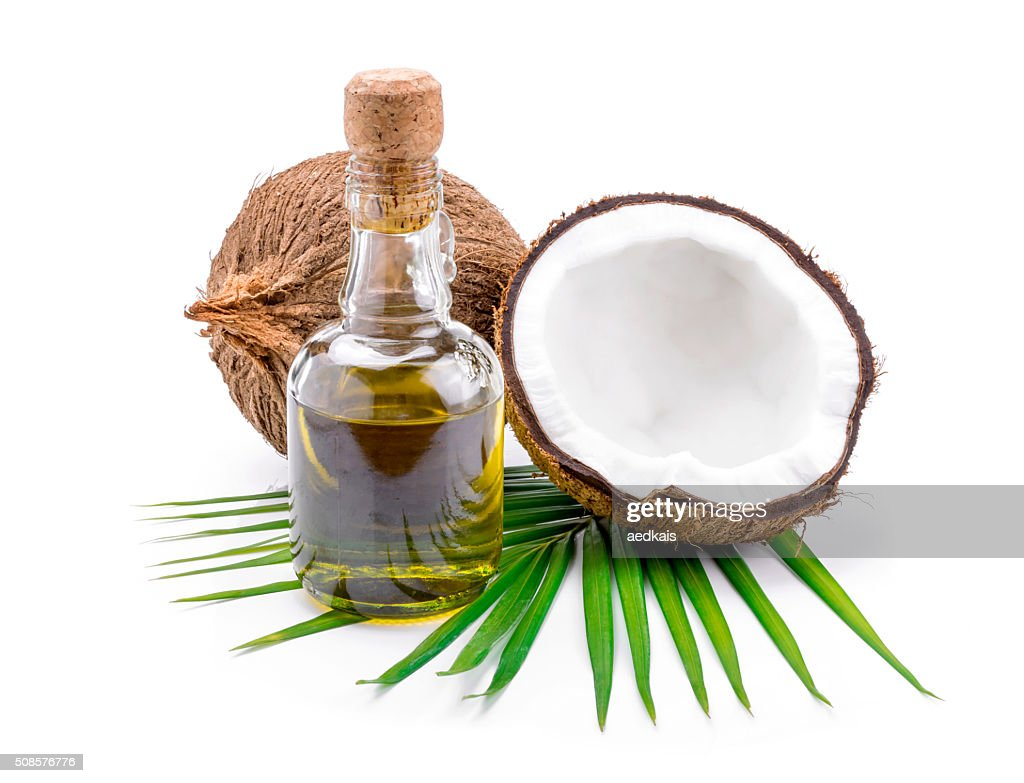 Coconut oil for alternative therapy : Stockfoto