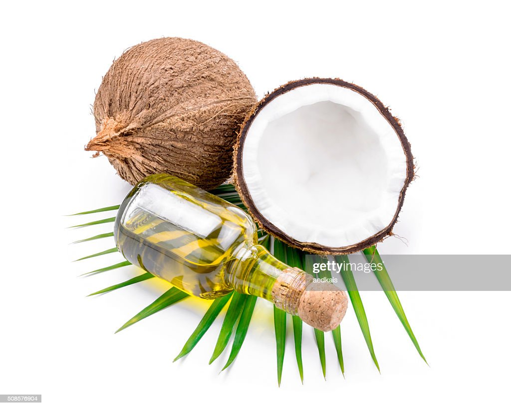 Coconut oil for alternative therapy : Bildbanksbilder