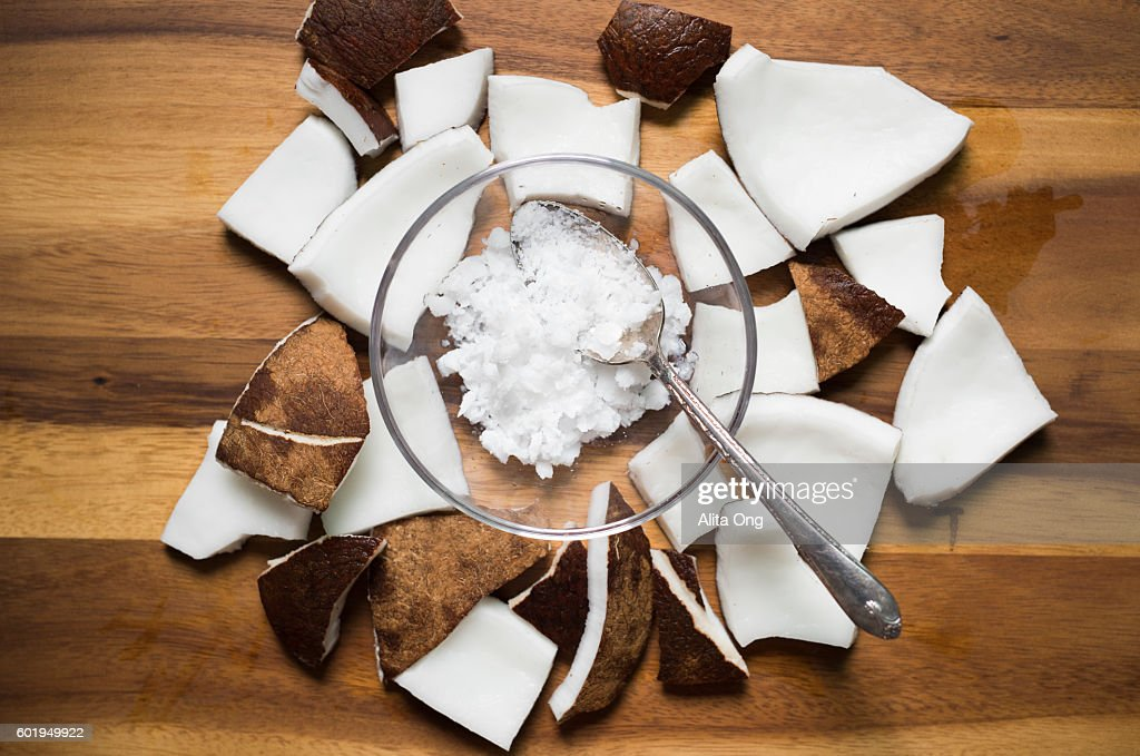 Coconut oil : Stock Photo