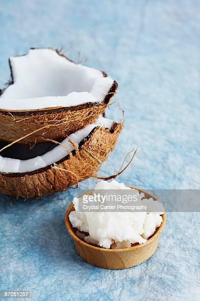 coconut - 果肉 ストックフォトと画像