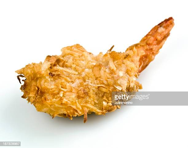 coconut shrimp - breaded stock photos and pictures