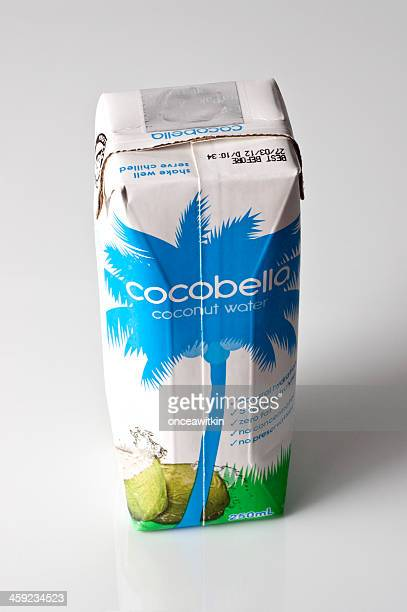 Coconut water electolyte drink container
