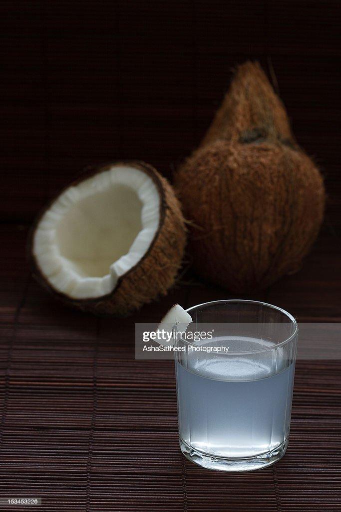 Coconut water : Foto stock